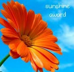 GGH received this sunshine award!