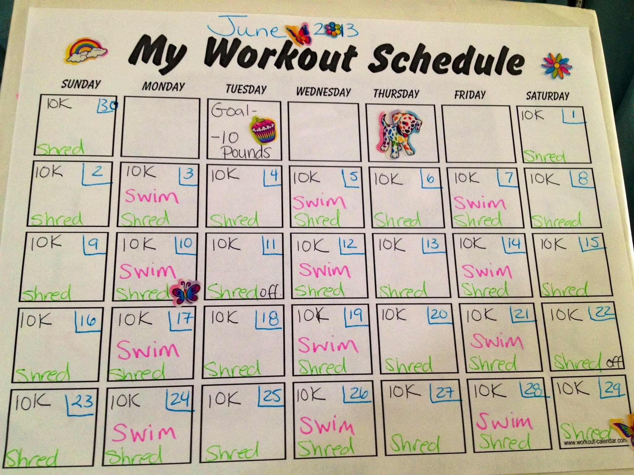 Jillian Michaels Body Revolution Schedule | New Calendar Template Site