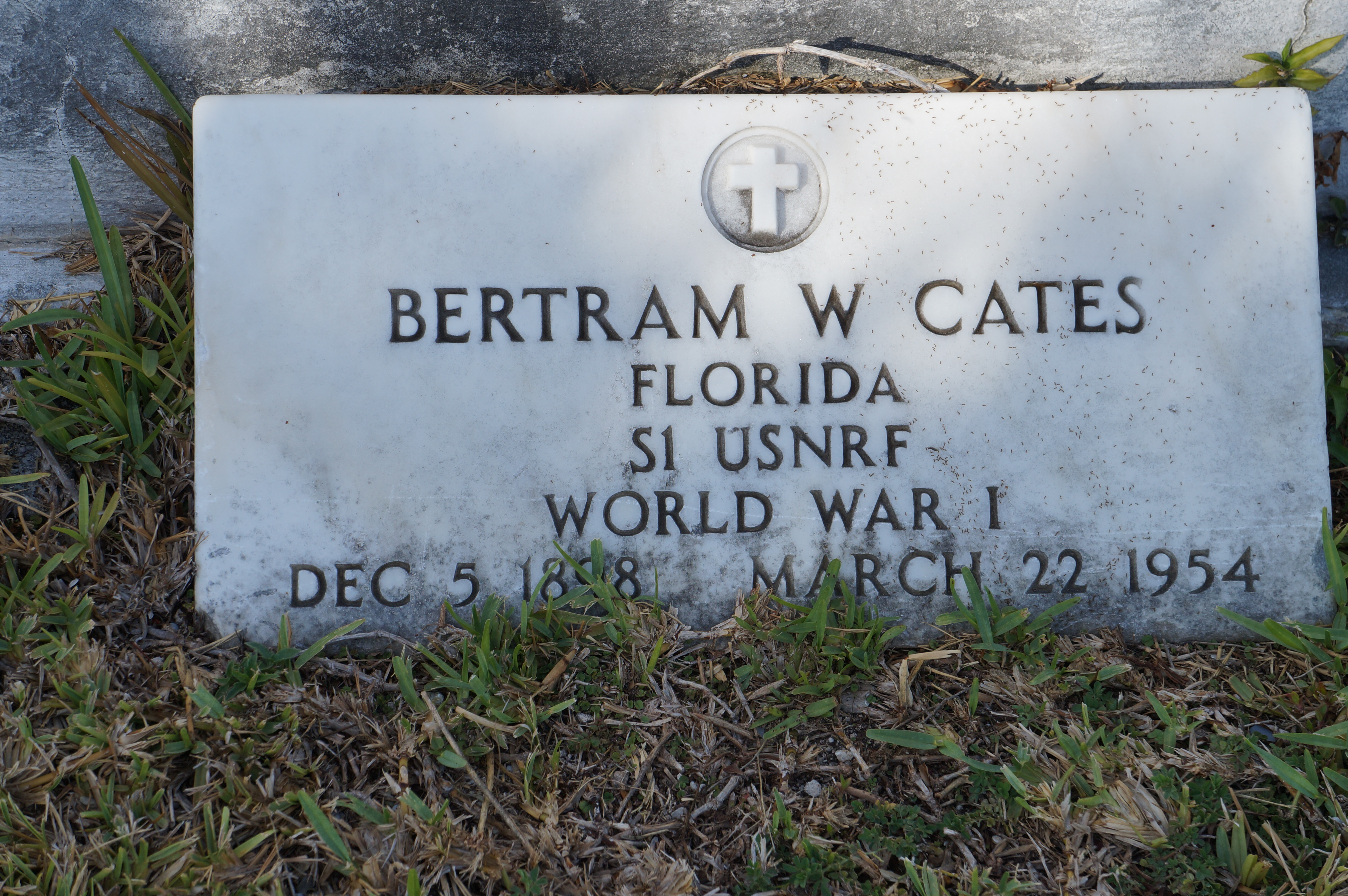 Bertram Cates USNRF WWI 1898-1954 2