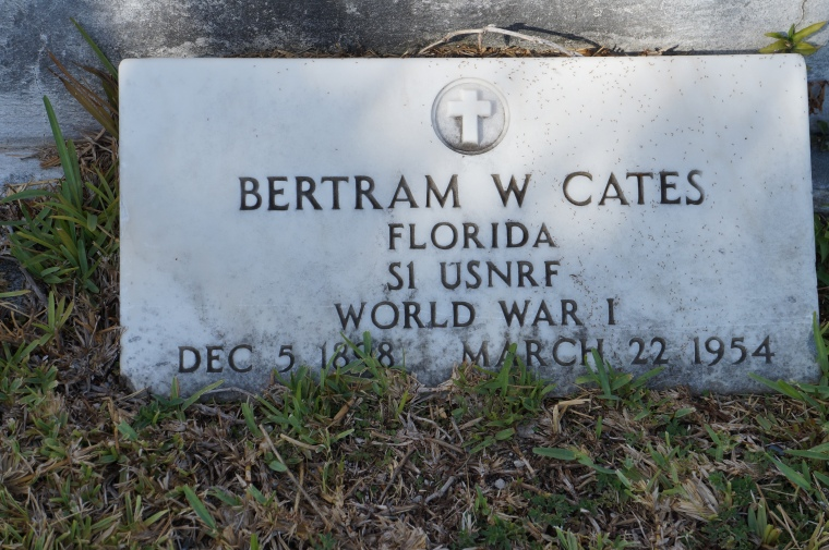Bertram Cates USNRF WWI 1898-1954 2