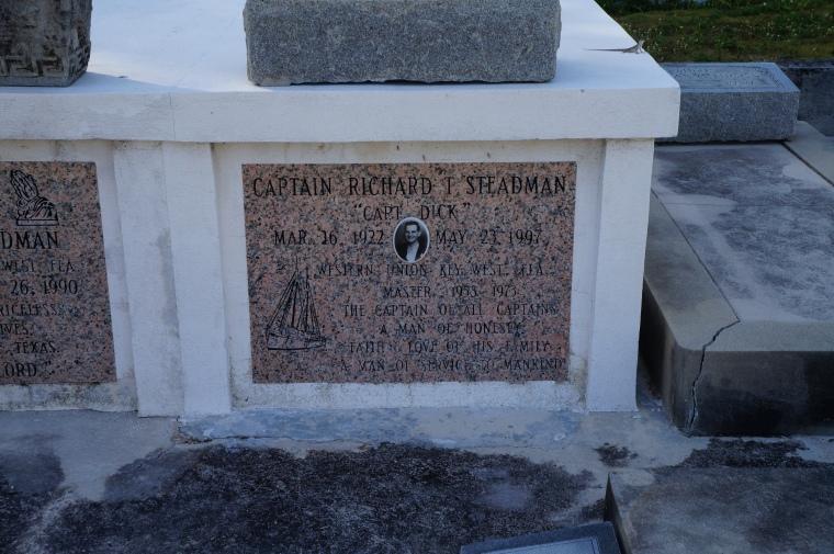 Captain Dick Steadman, Western Union, 1922-1997