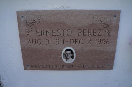 Ernesto Perez 1911-1956